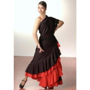 Flamencorock 2färbig