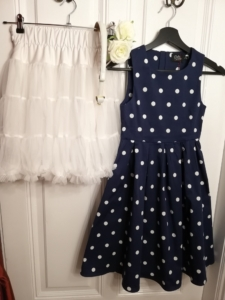 Kinderkleid dunkelblau