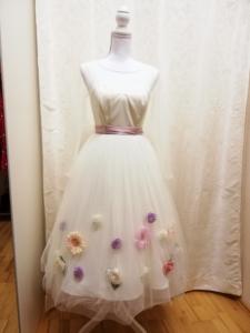Swing-Brautkleid Floral