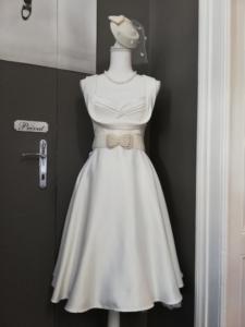 50s Brautkleid elegant