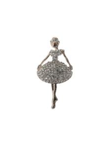 Ballerina Brosche