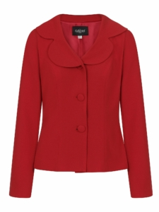 50s Jacket in Rot Gr.34 bis 40
