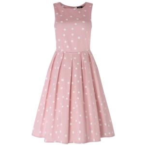 Kleid in Pale-Pink aus Premium-Baumwolle