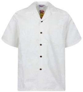 Edles Original Hawaii-Hemd in weiß